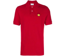 Poloshirt mit Smiley-Patch
