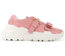 'Yokoo' Sneakers mit Schnalle