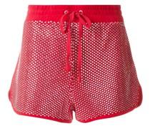 Shorts mit Swarovski-Kristallen