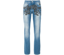 Josephine embellished straight leg jeans
