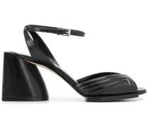 Sandalen mit Blockabsatz, 80mm