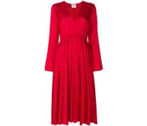 Ausgestelltes Kleid mit V-Ausschnitt