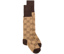 GG pattern socks