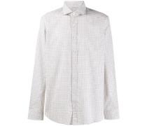 Weites Hemd mit Gittermuster