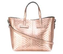 Handtasche mit Schlangen-Effekt