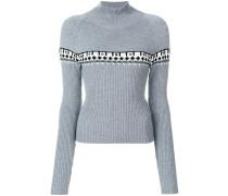 Pullover mit Ösen