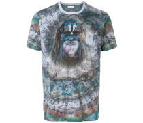 T-Shirt mit Indianer-Print