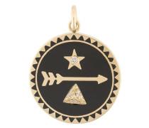 18kt 'Dream Medallion' Rotgoldanhänger