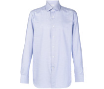Button-down-Hemd aus Baumwolle