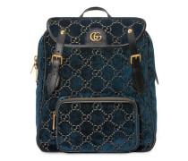 Kleiner Rucksack mit GG-Muster