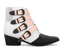 'AJ006' Stiefel aus Schlangenleder