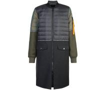 Enganliegender 'Hybrid' Mantel