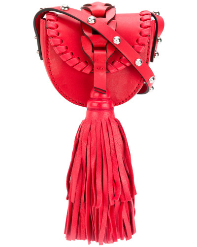 Valentino Damen Mini Umhängetasche mit Fransendetail Offizielle Seite Verkauf Online UrfeC0AvVe