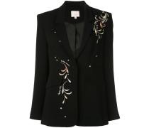 Estelle embroidered blazer