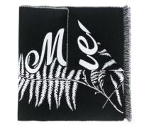 Schal mit Farn-Logo