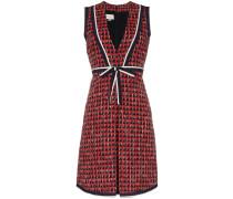 Gemustertes Tweed-Kleid