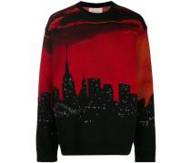 Pullover mit Skyline