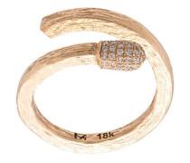 'Match' Ring mit Diamanten