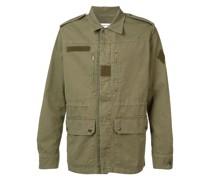 Military-Jacke mit Kragen