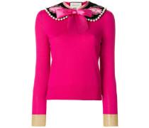 Peter pan collar cashmere sweater