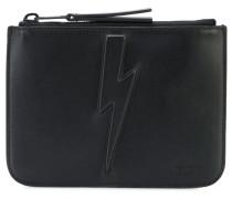 Portemonnaie mit Blitz-Prägung