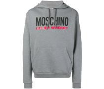 logo slogan hoodie
