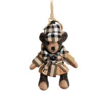 'Thomas' Bären-Anhänger mit Trenchcoat