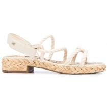 'Cristan' Sandalen mit Flechtmuster
