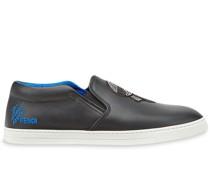 Slip-On-Sneakers mit Karlito-Detail