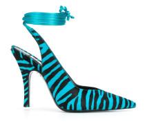 zebra print 115mm heel pumps