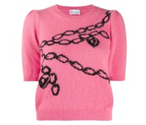 Bonded Forever knitted top