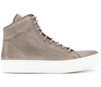 High-Top-Sneakers mit Konstrastsohle
