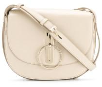disc buckle rounded shoulder bag