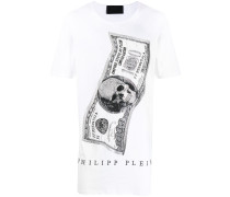 Oversized-T-Shirt mit Dollar