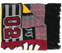 Schal im Patchwork-Design