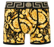 Shorts mit Barocco-Print