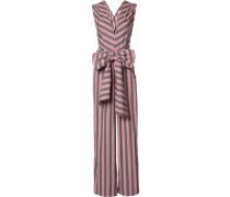 'Wide Stripe Sleeveless' Jumpsuit