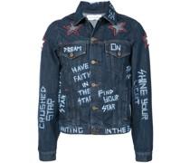 star patch jacket