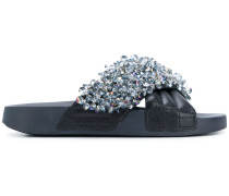 crystal-embellished slides