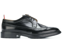 Shiny Leather Classic Longwing Brogue