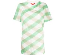 Langes 'Lattice' T-Shirt