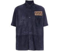 FF logo suede shirt