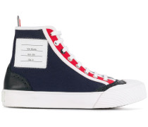 High-Top-Sneakers mit Budapestermuster