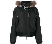 fur trimmed jacket