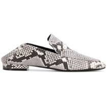 Loafer mit Perlenbesatz