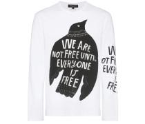 'We are not Free' Langarmshirt