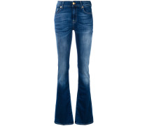 Halbhohe Bootcut-Jeans