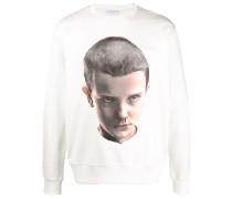 Sweatshirt mit Eleven-Print