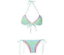 Gehäkelter Neon-Bikini