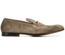 distressed loafers